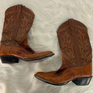 Tony Lama Ostrich Boots Size 10